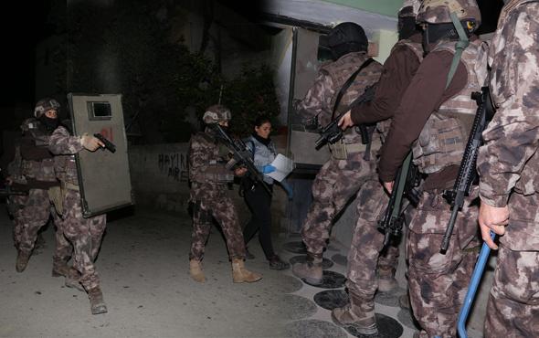 6 ilde terör operasyonu çok sayıda kişi gözaltına alındı