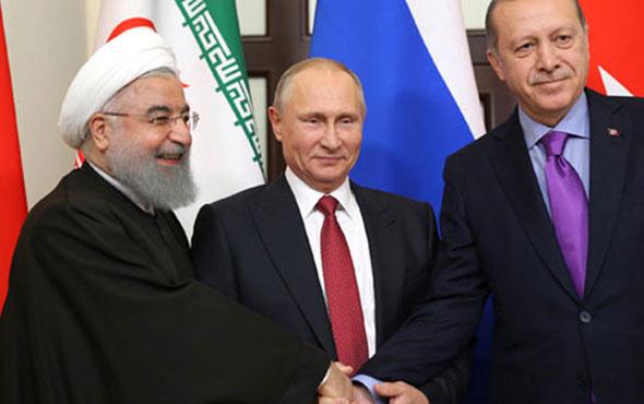 Erdoğan Putin'den sonra Ruhani İle görüştü