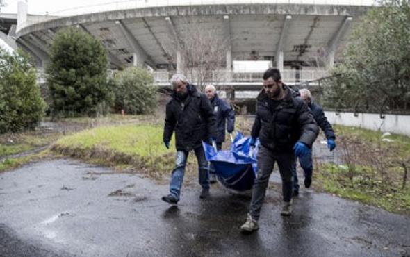 Flaminio Stadı'nın içinden erkek cesedi çıktı