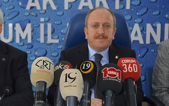 AK Parti'nin Çorum Belediye Başkan adayı belli oldu