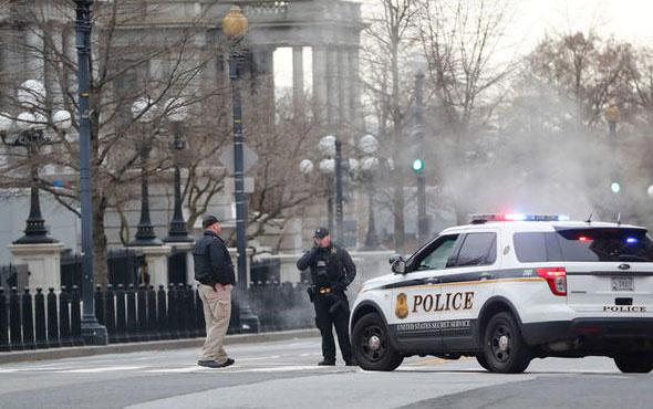 Beyaz Saray'da alarm durumuna geçildi