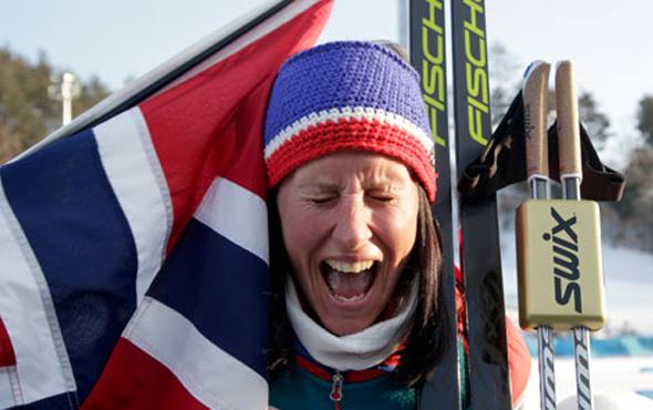 Kış Olimpiyatları'nda zirve Norveç'in