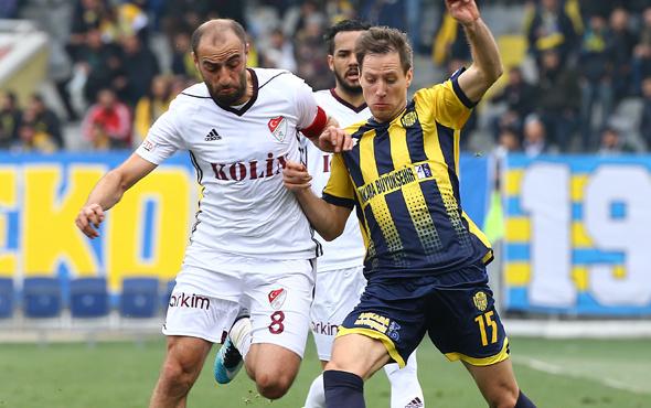 Ankaragücü Elazığspor maçında gol sesi çıkmadı