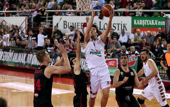 Pınar Karşıyaka Gaziantep Basketbol'u devirdi
