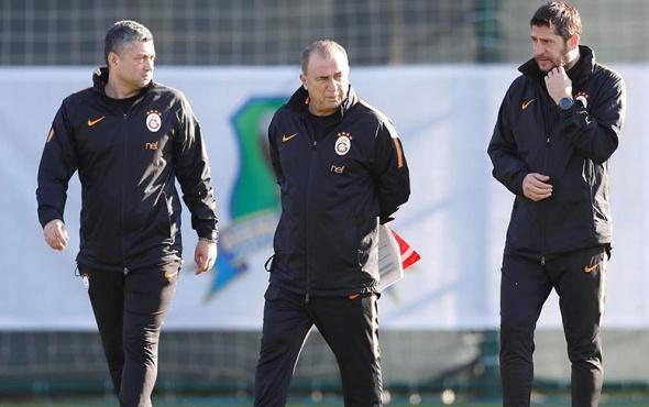 Galatasaray kupa maçı hazırlıklarına başladı