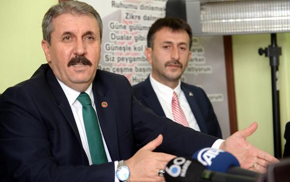 Mustafa Destici Afrin sonrası hedefi açıkladı