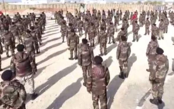 500 kişilik komando birliği Afrin yolunda!