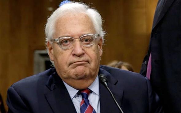 ABD'nin Tel Aviv Büyükelçisi 'pes' dedirtti