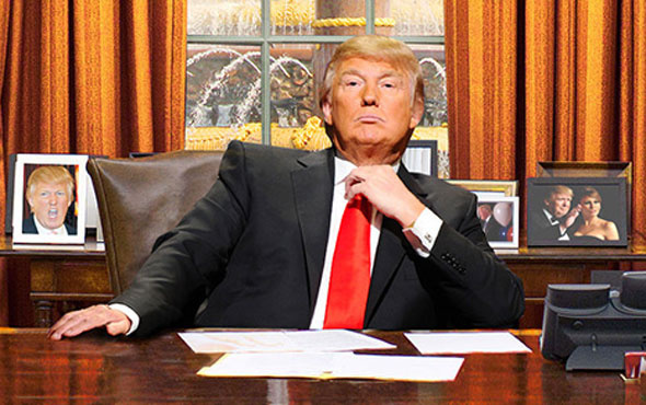 Trump'tan skandal Kudüs çıkışı! En muhteşem işim...