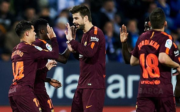 Barcelona Malaga'ya acımadı