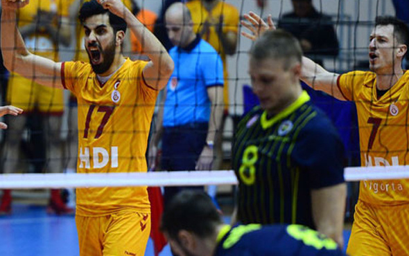 Derbi maçın galibi Galatasaray