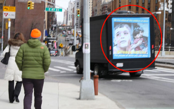 New York sokaklarında 'pes'' dedirten Afrin yalanı!