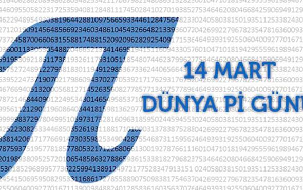 Pi Günü nedir neden kutlanır 14 Mart Pİ günü anlamı nedir?