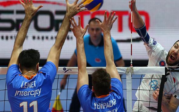 Halkbank finalde Arkas Spor'un rakibi oldu