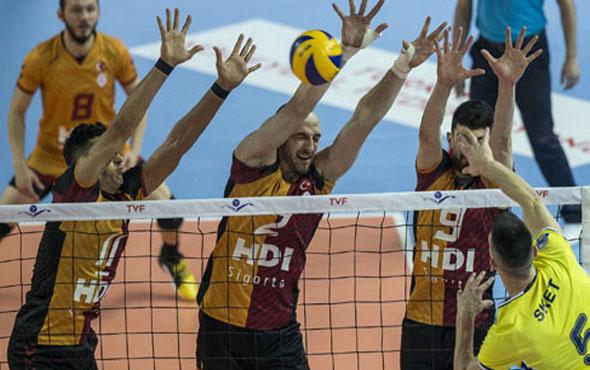 Galatasaray Fenerbahçe'yi yendi seride öne geçti