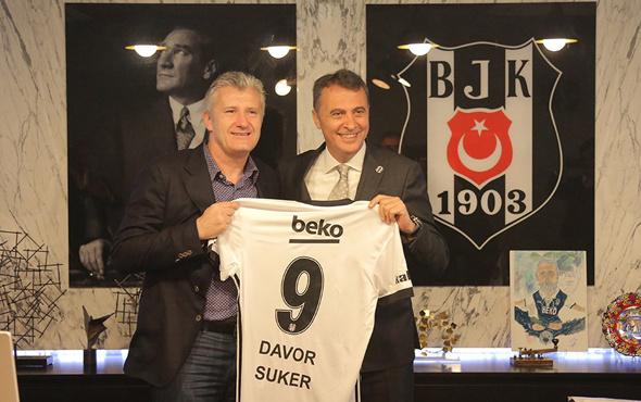 Suker'den Beşiktaş'a ziyaret