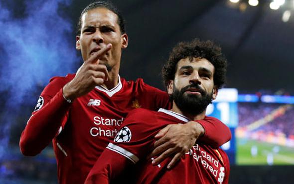 Salah Premier Lig tarihine geçti!