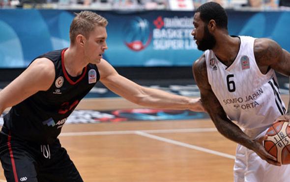 Beşiktaş sahasında Gaziantep Basketbol'u devirdi