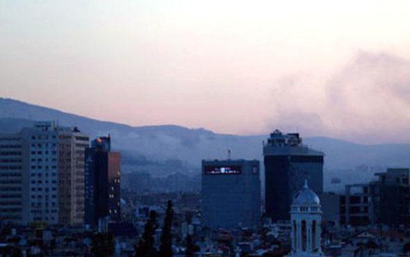 Suriye'de patlama sesleri! Şam elektriksiz kaldı