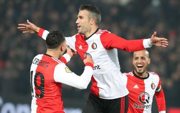 Van Persie attı Feyenoord kazandı