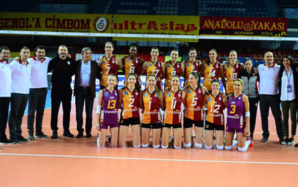 Galatasaray Dörtlü Final'e yükseldi