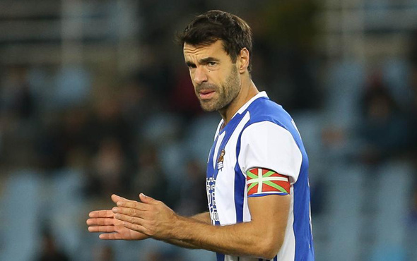 Real Sociedad'dan Prieto'ya unutulmaz veda