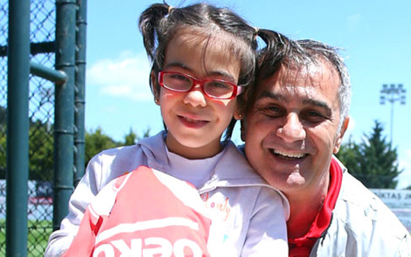 Minik Sahra'dan Beşiktaş'a ziyaret
