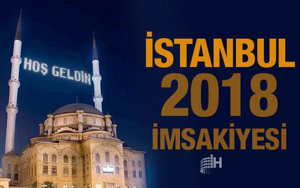 İstanbul İmsakiye 2018 Diyanet sahur imsak vakti iftar saatleri