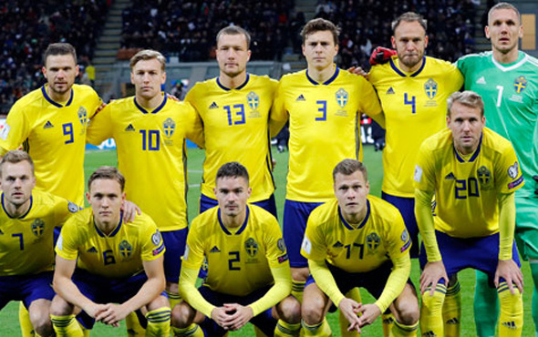 İsveç'in Dünya Kupası kadrosu belli oldu