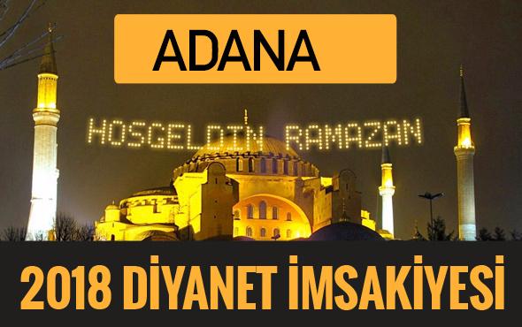 2018 İmsakiye Adana- Sahur imsak vakti iftar ezan saatleri