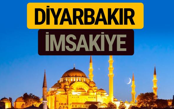 Diyarbakır İmsakiye 2018 iftar sahur imsak vakti ezan saati