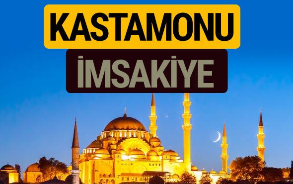 Kastamonu İmsakiye 2018 iftar sahur imsak vakti ezan saati