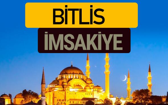 Bitlis İmsakiye 2018 iftar sahur imsak vakti ezan saati