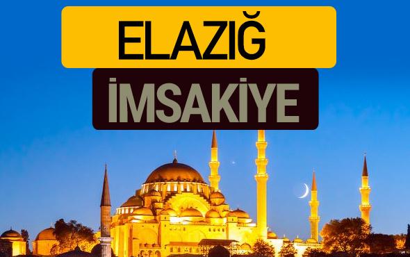 Elazığ İmsakiye 2018 iftar sahur imsak vakti ezan saati
