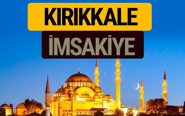 Kırıkkale İmsakiye 2018 iftar sahur imsak vakti ezan saati
