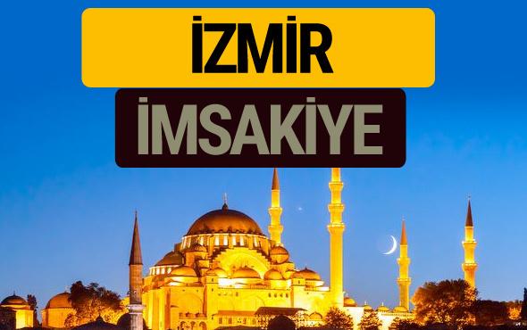 İzmir İmsakiye 2018 iftar sahur imsak vakti ezan saati