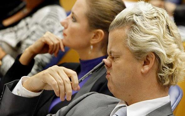 Irkçı Wilders'ten rezil yarışma! Jürisi ataist bağışçısı gizli