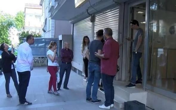 Küçükçekmece'de silahlı PTT soygunu