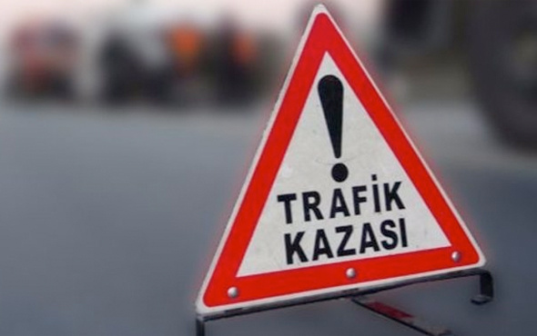 Antalya'da trafik kazası: 1 ölü 1 yaralı