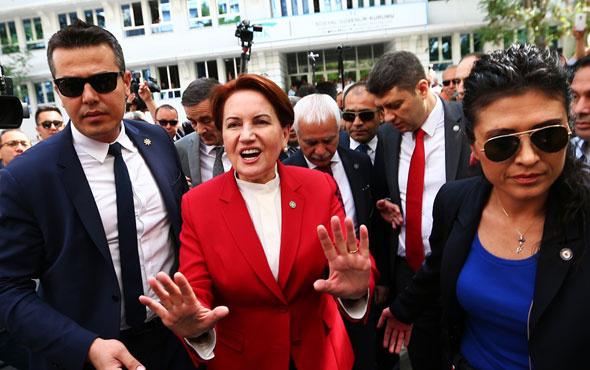Akşener resmen cumhurbaşkanı adayı oldu! YSK'ya başvurdu...