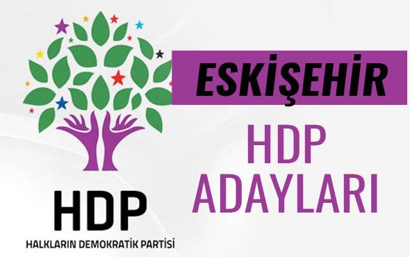 HDP Eskişehir milletvekili adayları 27. dönem listesi