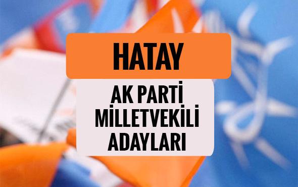 AKP Hatay milletvekili adayları 2018 AK Parti listesi