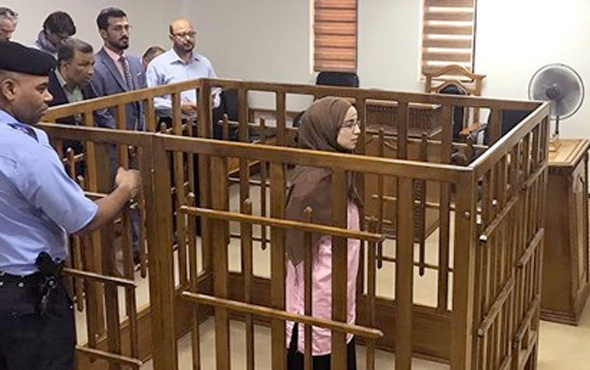 Irak'ta DEAŞ'lıların eşlerine 10 dakikada idam
