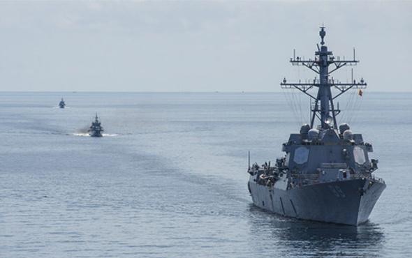 ABD'ye sert tepki! Savaş gemileri yola çıktı