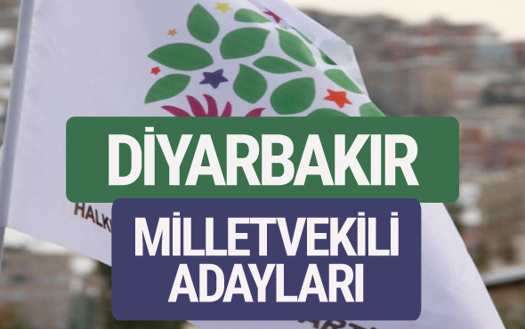 HDP Diyarbakır milletvekili adayları 2018 YSK isim listesi