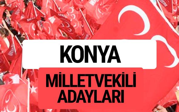 MHP Konya milletvekili adayları 2018 YSK kesin listesi