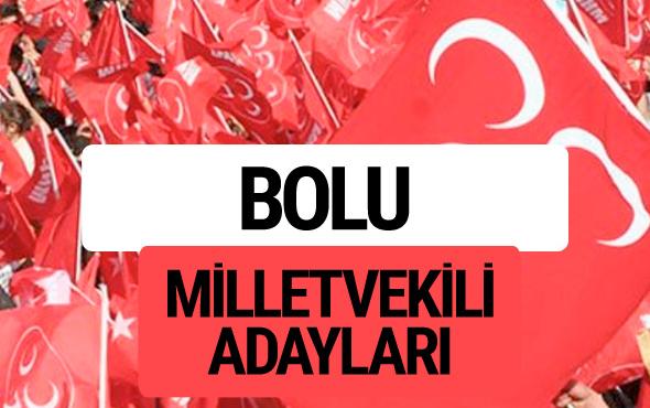 MHP Bolu milletvekili adayları 2018 YSK kesin listesi