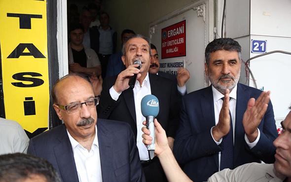 Mehdi Eker, Ergani'de davul-zurnayla karşılandı!