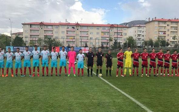 U18 Milli Takım'ı Gürcistan'a yenildi