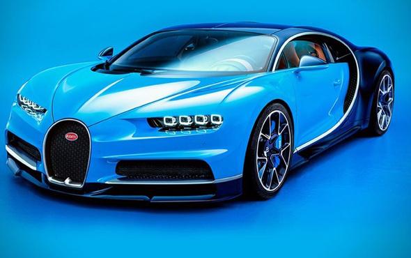 100. Bugatti Chiron'un adresi Ortadoğu oldu! Değeri tam 2.85 milyon avro